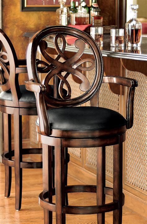 Kitchen Bar Chairs With Arms Kitchen Kitchen Bar Stools Swivel With Arms Wonderful