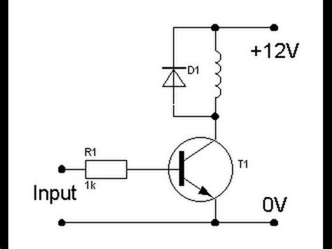 using an npn transistor as a relay