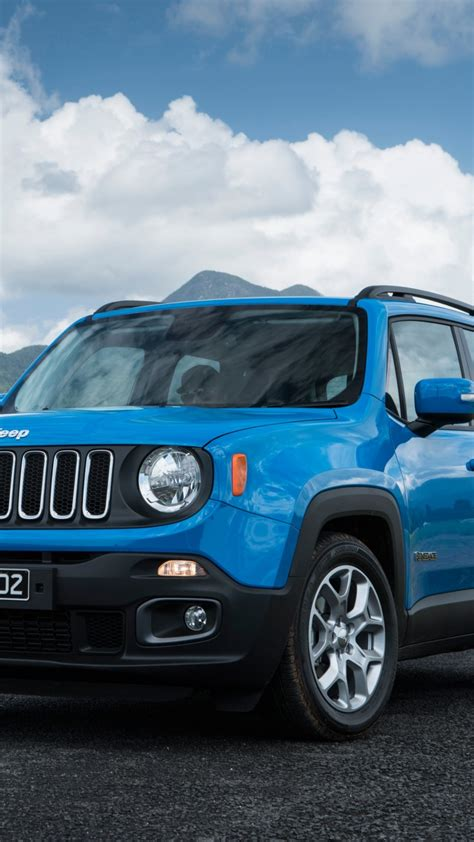 wallpaper jeep renegade longitude blue suv cars bikes