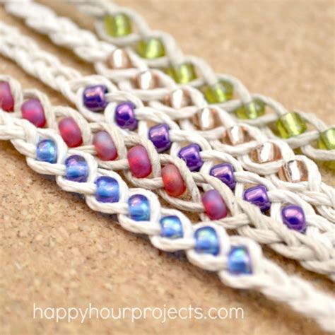 free crafts to make wish bracelets happy hour projects