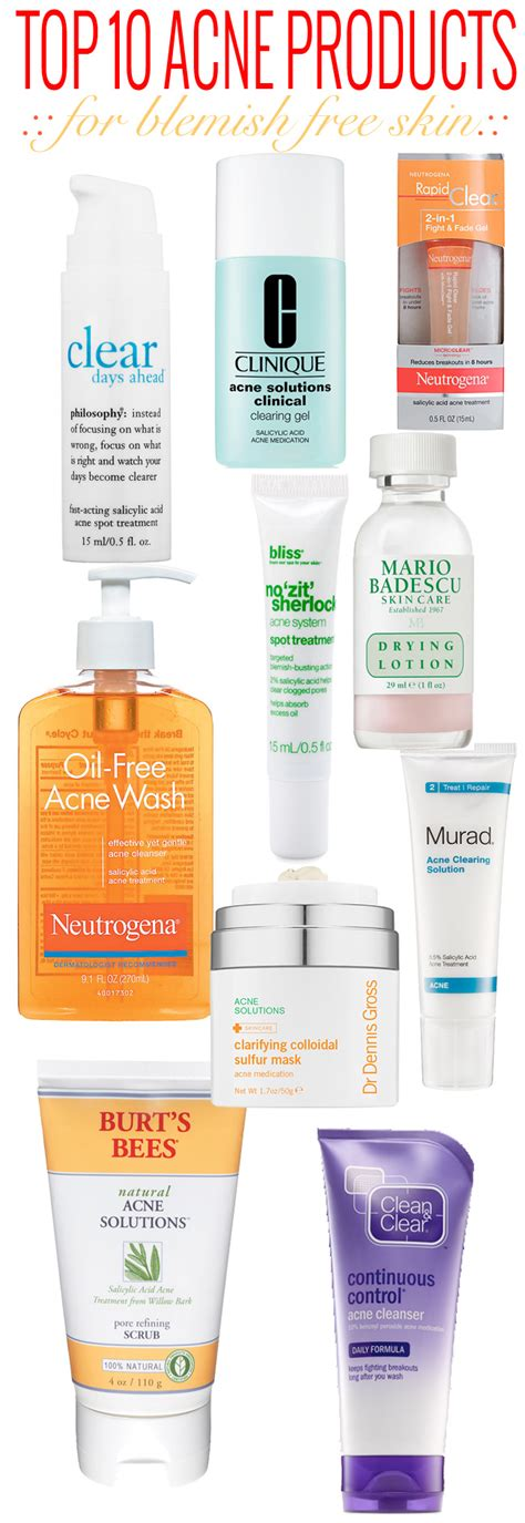 Top 8 Acne Products For acne 101 top 10 acne products beautiful makeup search