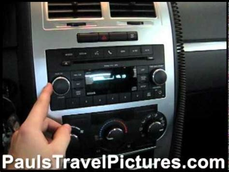 2010 dodge charger radio 2010 dodge charger sxt oem stock stereo system volume test