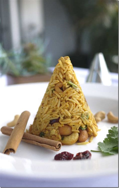 Day 15 'Get Your Jelly On': Biryani rice with cashew nuts ... Royal Jelly