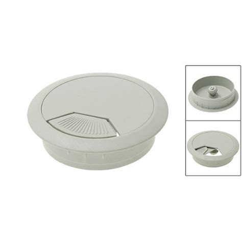 Computer Grommets For Desks Details About Ss Pc Computer Desk Table Plastic Grommet Cable Tidy Wire Cover Grey White