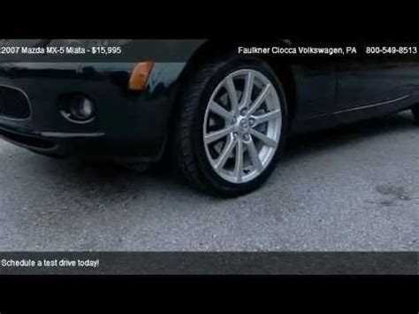 faulkner volkswagen allentown 2007 mazda mx 5 miata grand touring for sale in