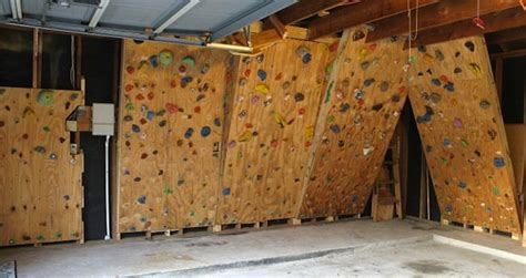 diy outdoor climbing wall diy gym bob vila