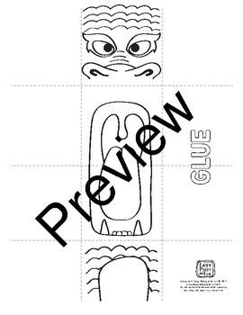 new year craft template printable puppet craftivity template