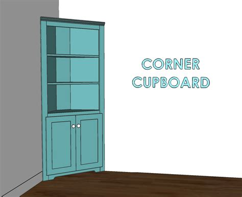 Build A Corner Cabinet by Woodworking Plans Build Corner Cupboard Pdf Plans