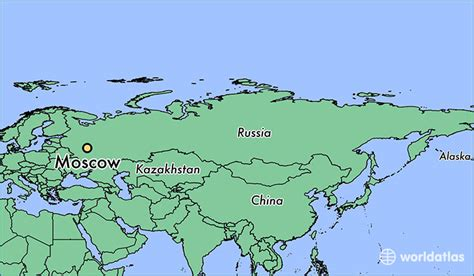 world map moscow where is moscow russia moscow moscow map worldatlas