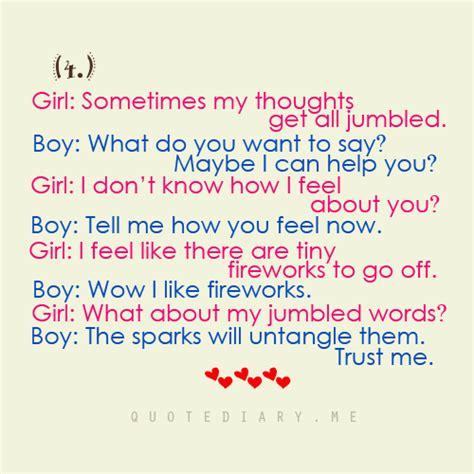 funny boy girl conversation quotes quotesgram
