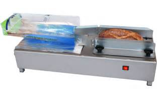 Bread Bagging Machine Hoba Bread Slicers Packaging Machines Bakery Combinations