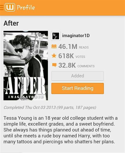 after we collided the after series after we collided wattpad imaginator1d wroc awski