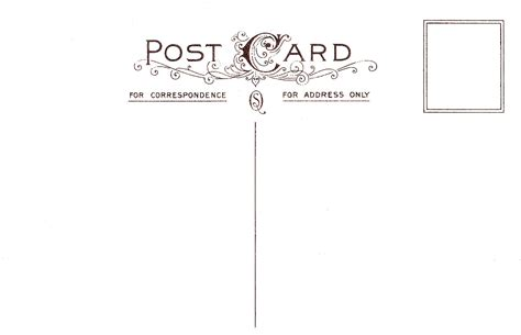 back of postcard template photoshop retro postcard template www imgkid the image kid has it