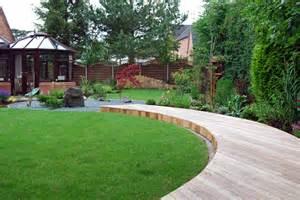 a peaceful zen style garden