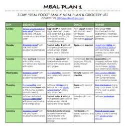 organic org free real food meal plans