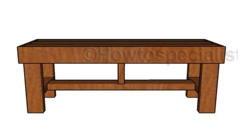 easy to build benches 2x4 easy to build bench plans howtospecialist how to