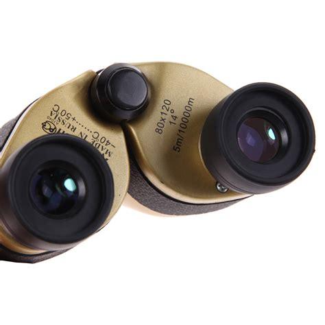 teropong binocular outdoor magnification 80 x 120 golden