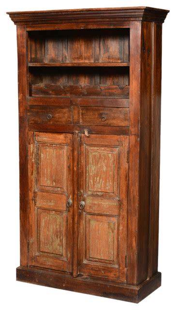Reclaimed Wood Bar Cabinet Rustic Reclaimed Wood 71 Wine Rack Liquor Storage Cabinet Rustic Wine And Bar Cabinets