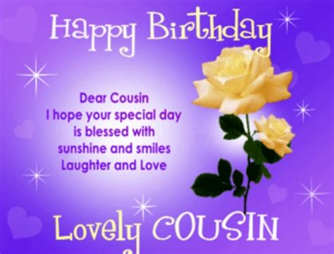 Cousin Birthday Quotes Happy Birthday Cousin Quotes Images Pictures Photos