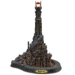 barad dur the dark tower of sauron sculpture the danbury mint