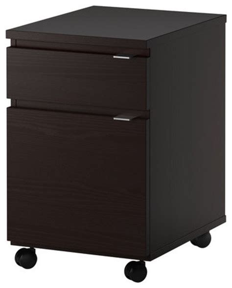 Malm Drawer Unit On Casters by Jonas Drawer Unit On Casters Scandinavian Filing