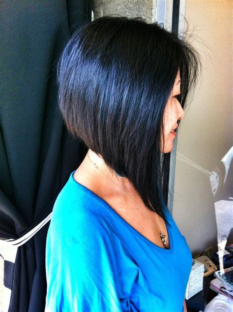 hair cuts on pinterest 23 images on diagonal forward bangs and angle bob a little shorter in front though beauty