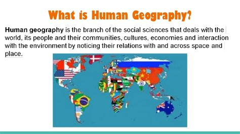 Landscape Definition Human Geography Ap Human Geography Course Description