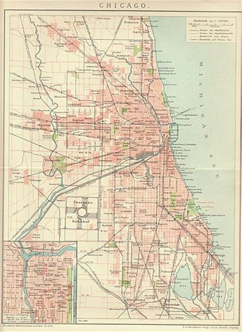chicago map 1900 pin by dajenster on historical
