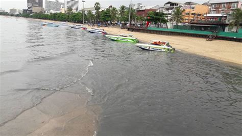 Danger In Pattaya quot danger to tourists quot as filthy water continues to spew