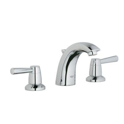Grohe Faucets Home Depot by Grohe Arden 8 In Widespread 2 Handle Low Arc Bathroom