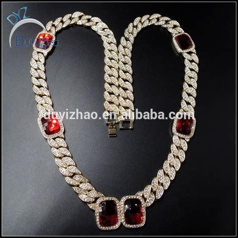 cadenas cubanas hip hop gold cuban chains diamond men s cuban chain