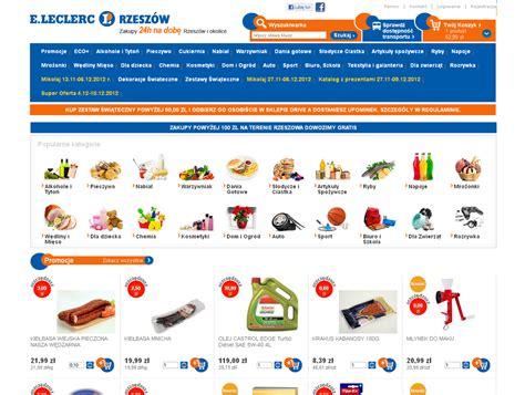 leclerc si鑒e social sklep internetowy dla e leclerc pełny koszyk w kilka
