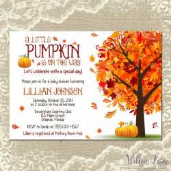 Wedding Invitations Hallmark Little Pumpkin Baby Shower Invitations Template Pumpkin Ba Shower Invitations Diy Party