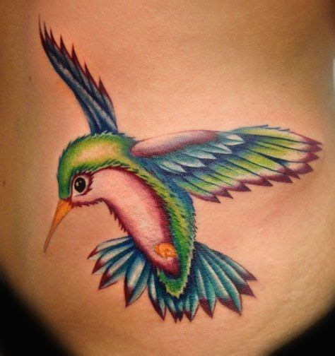 3d hummingbird tattoos realistic coloured hummingbird hummingbird