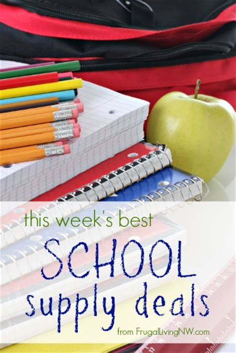 school supply deals for july 28 august 3 2013 fred meyer