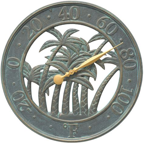 Patio Thermometer outdoor thermometer palm tree in patio thermometers