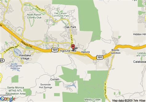 map of homewood suites by agoura ca agoura