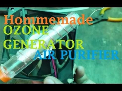 how to make a ozone generator air purifier