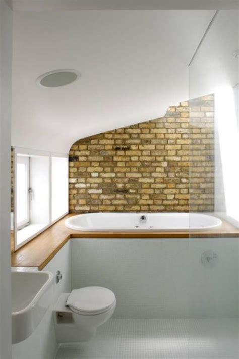 Brick Wall Tiles Bathroom by 33 Bathroom Designs With Brick Wall Tiles Ultimate Home