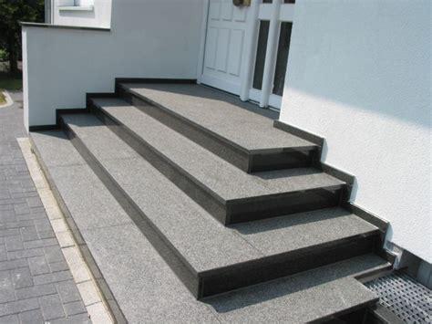 podest hauseingang treppe marmor und granitwerk hemmerich