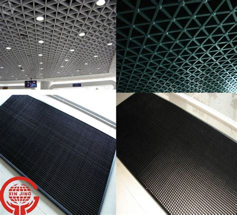 Indoor Ceiling Panels Indoor Building Ventilative Decorative Hang Grid Ceiling