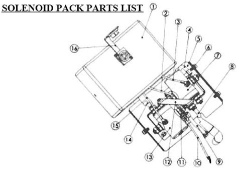 Tmax Winch Atw4500 Winch Electric 15 M t max winches ew series solenoid pack parts list