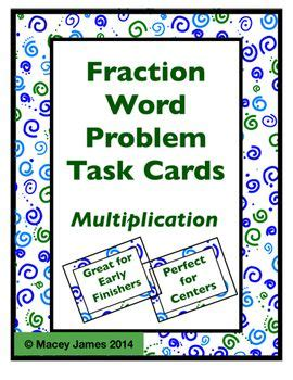multiplying fractions using cards template 94 best images about macey tpt store on