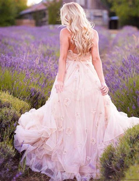 Delicate Pink Flowers Maternity Wedding Dress 2018 Sweetheart Sweep Train Ball Gown Wedding