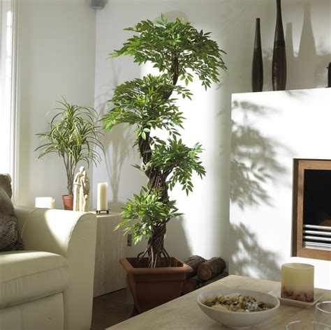 home decor with indoor plants japanese fruticosa artificial tree looks amazing in any