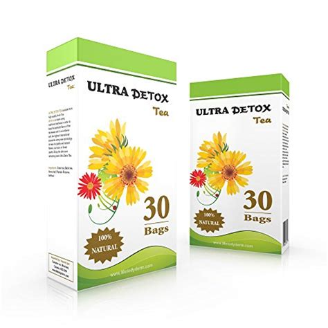 B Slim Ultra Detox Tea by Ultra Detox 30 Day Targets Belly 1 Weight