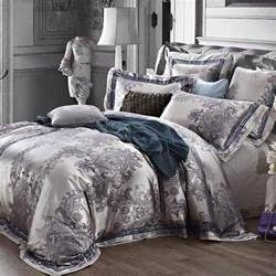 King Size Quilt Bedding Sets Luxury Jacquard King Size Bedding Set Quilt Duvet