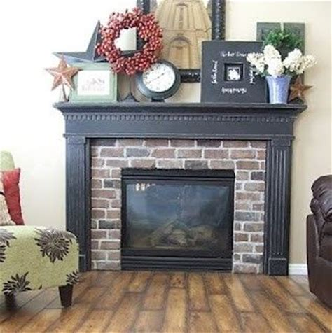 top 25 ideas about brick fireplace and mantle on