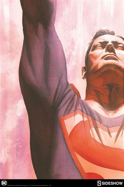 Kaos Superman Logo Alex Ross alex ross lithograph prints superman immortal captain america triumphant sideshow