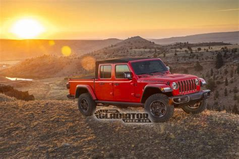 when does the 2020 jeep gladiator come out 2020 jeep gladiator leaks on forum ahead of la